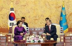 La rencontre entre Nguyen Thi Kim Ngan  et Moon Hee-sang couverte par la presse sud-coréenne