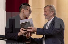 Un étudiant vietnamien remporte le prix au Festival russe de la musique