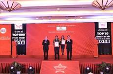 Vietnam Airlines se classe dans le top dix des meilleurs entreprises du Vietnam
