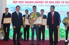 Ba Ria-Vung Tau: remise des licences d'investissement à 9 projets