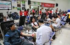 Fête du printemps rouge : plus de 11.000 d'unités de sang collectées
