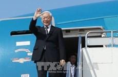 La visite du dirigeant Nguyen Phu Trong au Laos et au Cambodge couverte par la presse thaïlandaise