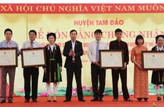 Vinh Phuc : le chant « Soong Cô » inscrit au patrimoine culturel immatériel national