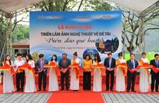 Exposition de photos « La mer et les îles de la Patrie » à Ninh Binh