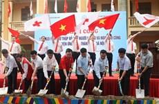 Croix-Rouge : construction de 154 maisons pour des personnes démunies de Hanoi