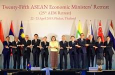 La 25e conférence restreinte des ministres de l'Economie de l'ASEAN à Phuket