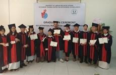 Douze techniciens d'orthopédiques obtiennent leur diplôme de fin d'études