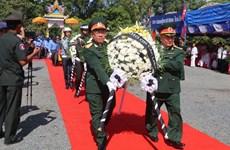 Rapatriement des restes de soldats volontaires et d'experts vietnamiens au Cambodge