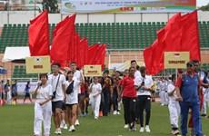 Ouverture d'un tournoi international d'athlétisme à Ho Chi Minh-Ville