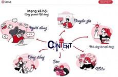 Lotus - le réseau social vietnamien s'articule autour du contenu
