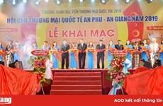 Ouverture de la foire commerciale internationale An Phu – An Giang 2019