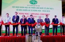 La 5e Conférence et exposition internationale sur le contrôle et l'automatisation à Hanoï