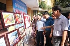 Exposition de photos « La mer et les îles de la Patrie » à Hà Tinh