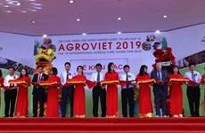 Ouverture de la Foire internationale de l'agriculture AgroViet 2019 à Hanoï