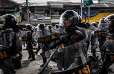 L'Indonésie renforce la sécurité et interdit la protestation avant l'inauguration présidentielle