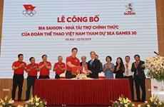 SEA Games 30 : Sabeco devient le sponsor officiel de la délégation sportive vietnamienne