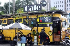 Hanoi Bus Cafe - un unique café à Hanoï