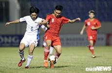 Le Vietnam qualifié pour la finale du Tournoi international de football des moins de 21 ans 2019