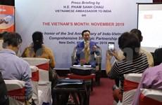 """Le """"Mois du Vietnam"""" en Inde comprend de nombreuses activités"""