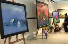 Exposition de peintures marquant le Sommet spécial R. de Corée – ASEAN 2019 à Hanoï
