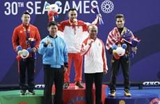 SEA Games: quatre médailles d'argent et cinq de bronze pour le Vietnam