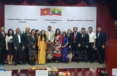 Le Vietnam et le Myanmar renforcent leur coopération dans l'éducation
