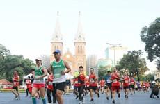 Près de 13.000 coureurs au marathon international Techcombank de Hô Chi Minh-Ville 2019