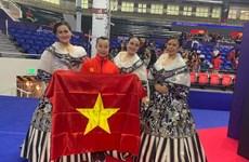 SEA Games 30: une médaille d'or pour l'aérobic vietnamien