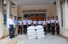 Dak Lak : plus de 763 tonnes de riz offertes à des élèves démunis