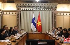 Ho Chi Minh-Ville et la Finlande renforcent leur coopération dans plusieurs domaines
