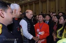 Des jeunes vietnamiens participent à un programme d'échanges international en Inde