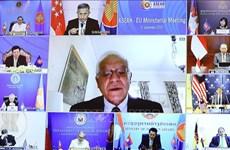 AMM-53: Coopération UE-ASEAN renforcée pour faire face à la pandémie COVID-19
