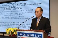 La Journée de l'Unité allemande célébrée à Ho Chi Minh-Ville