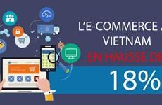 L'e-commerce au Vietnam en hausse de 18%