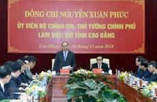 Cao Bang exhortée à profiter de son potentiel pour le développement socioéconomique