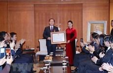 Le professeur sud-coréen Ahn Kyong Hwan à l'honneur
