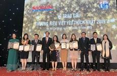 Les 27 marques commerciales vietnamiennes les plus populaires en 2019 publiées