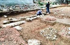 Les restes de la pagode du 10ème siècle ont été mis au jour