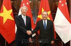 Promotion du partenariat stratégique Vietnam-Singapour