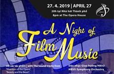 """""""Une nuit de musique de film"""" à Hô Chi Minh-Ville"""