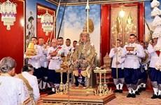 Le dirigeant Nguyen Phu Trong félicite le roi de Thaïlande pour son couronnement