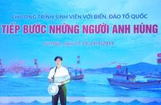 Les étudiants vietnamiens s'orientent vers la mer et les îles du pays