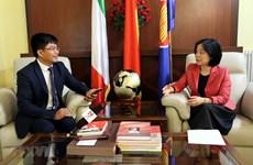 Les relations Vietnam-Italie en plein essor