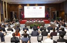 Vietnam, Laos et Cambodge souhaitent promouvoir l'efficacité du triangle de développement