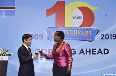 Célébration de 10 ans des relations diplomatique  Vietnam - Botswana