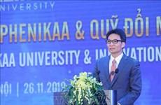 Les universités, lieu de diffusion et de création du savoir, selon le vice-PM Vu Duc Dam