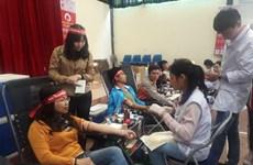 Fête de don du sang à Lang Son et Hai Duong