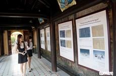 Hue: exposition sur le Nouvel An lunaire sous la dynastie des Nguyen