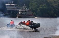 Quatre pays riverains du Mékong commencent leur 91e patrouille commune