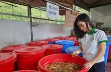 Transformer des déchets en produits utiles, le pari d'une femme